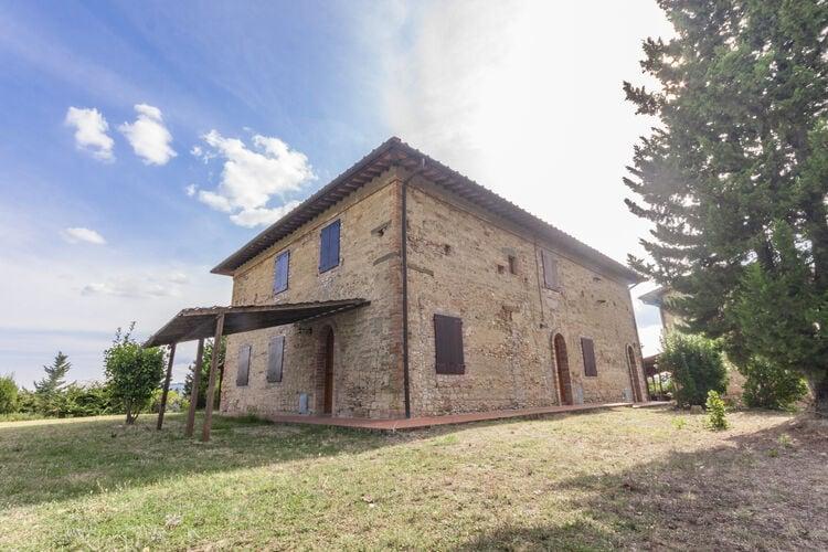 Italie | Toscana | Villa te huur in Montespertoli-Firenze met zwembad  met wifi 4 personen