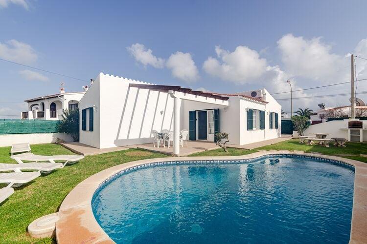Vakantiehuizen Spanje | Men | Villa te huur in Alaior met zwembad  met wifi 6 personen