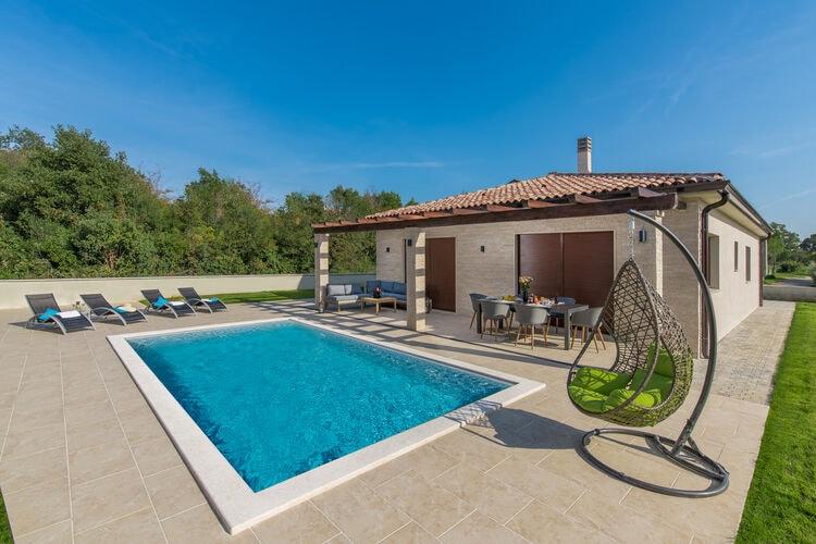Vakantiehuizen Kroatie | Istrie | Villa te huur in Umag met zwembad  met wifi 8 personen