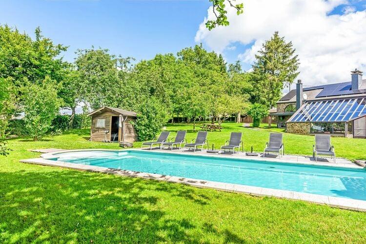 Vakantiehuizen Belgie | Luxemburg | Villa te huur in La-Roche-en-Ardenne met zwembad  met wifi 12 personen