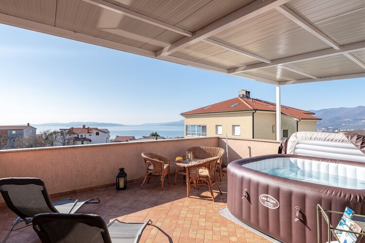 Vakantiehuizen Kroatie | Kvarner | Appartement te huur in Rijeka   met wifi 6 personen