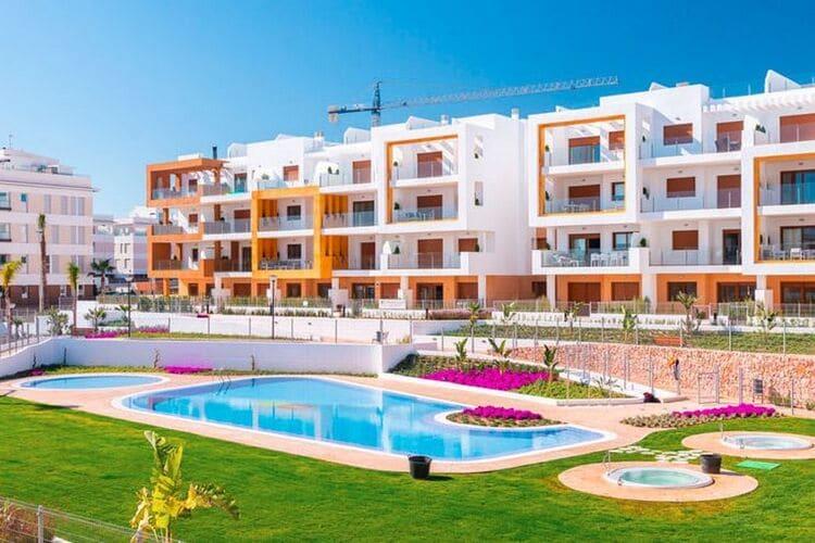 Vakantiehuizen Spanje | Valencia | Appartement te huur in Orihuela-Costa met zwembad  met wifi 6 personen