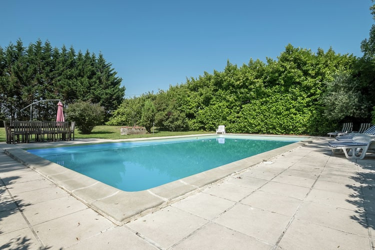 Frankrijk | Cote-Atlantique | Kasteel te huur in Courpignac met zwembad  met wifi 13 personen