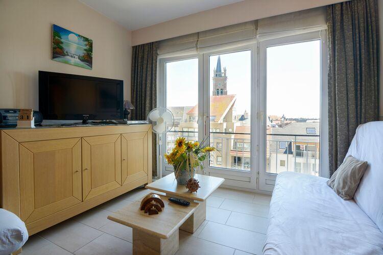 Appartementen Belgie | West-Vlaanderen | Appartement te huur in Blankenberghe   met wifi 6 personen