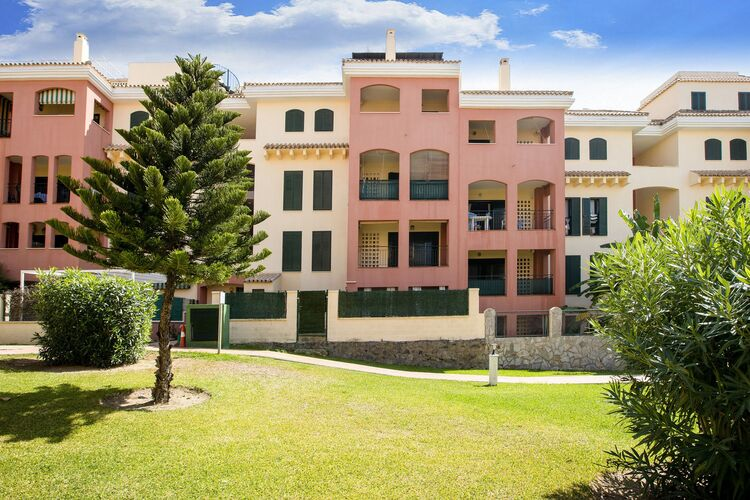 Appartementen Spanje | Luz | Appartement te huur in Zahara-de-los-Atunes   met wifi 4 personen