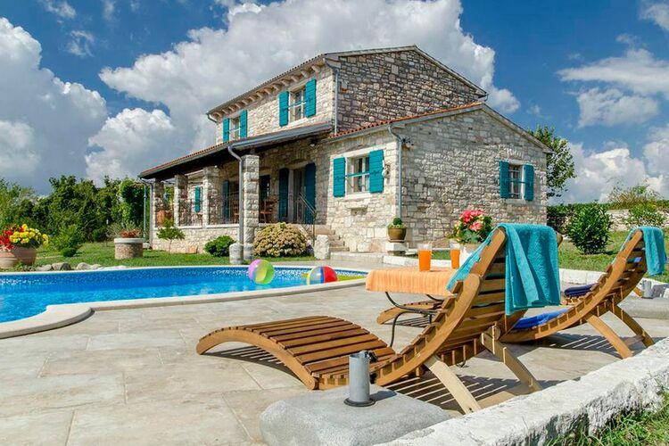 Villa Kroatië, Istrie, Zminj Villa HR-00041-75