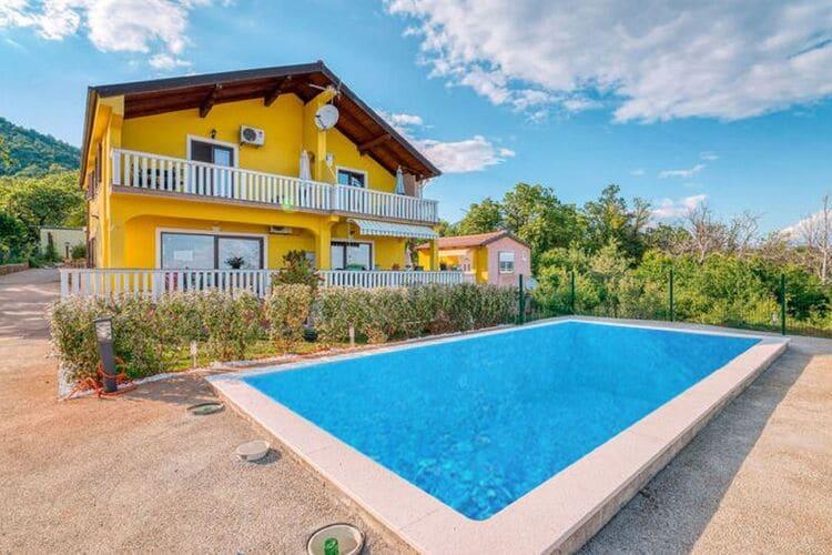 Vakantiehuizen Kroatie | Kvarner | Vakantiehuis te huur in Lovran met zwembad  met wifi 4 personen