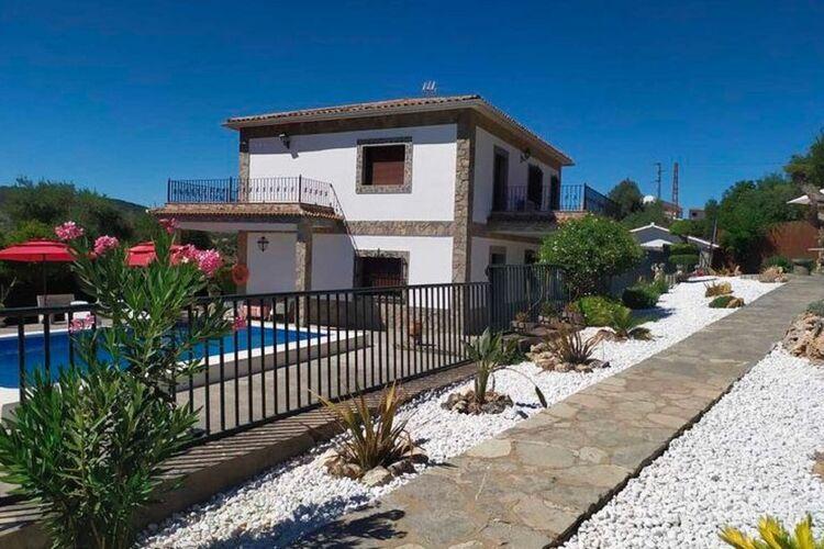 Vakantiehuizen Spanje | Andalucia | Vakantiehuis te huur in El-Bosque met zwembad  met wifi 9 personen