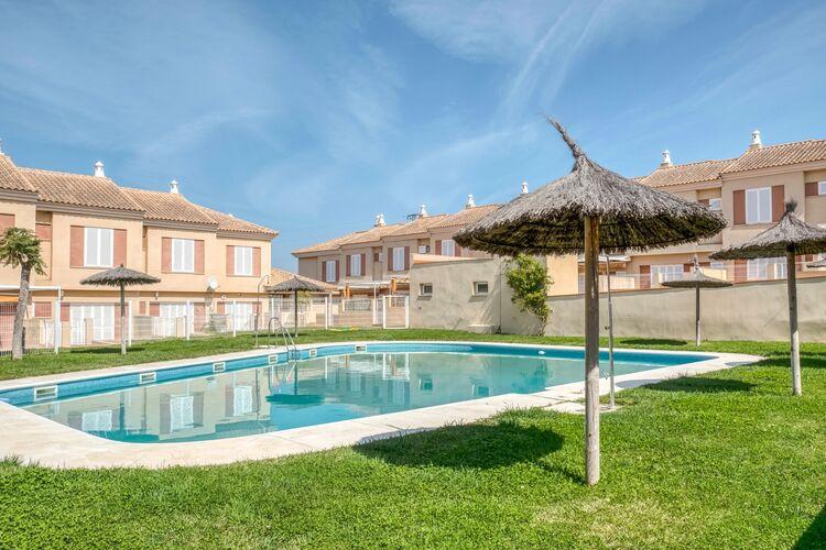 Vakantiehuizen Spanje | Luz | Vakantiehuis te huur in La-Redondela met zwembad  met wifi 6 personen