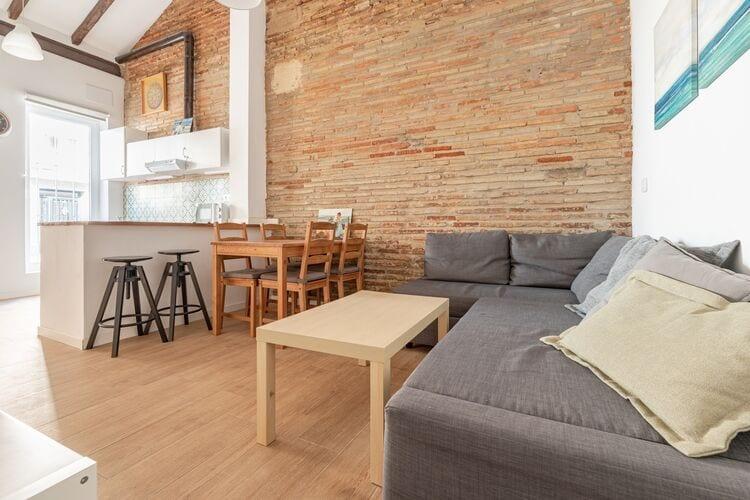 Vakantiehuizen Spanje | Valencia | Vakantiehuis te huur in Valencia   met wifi 6 personen