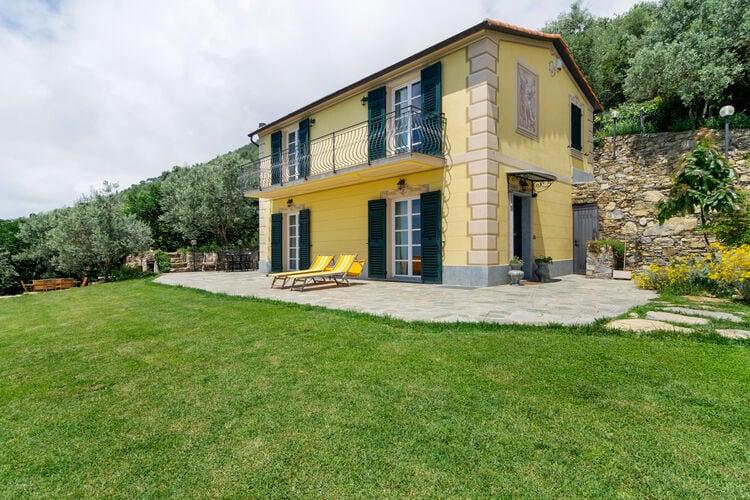 Vakantiehuizen Italie | Lig | Vakantiehuis te huur in Pieve-Ligure   met wifi 6 personen