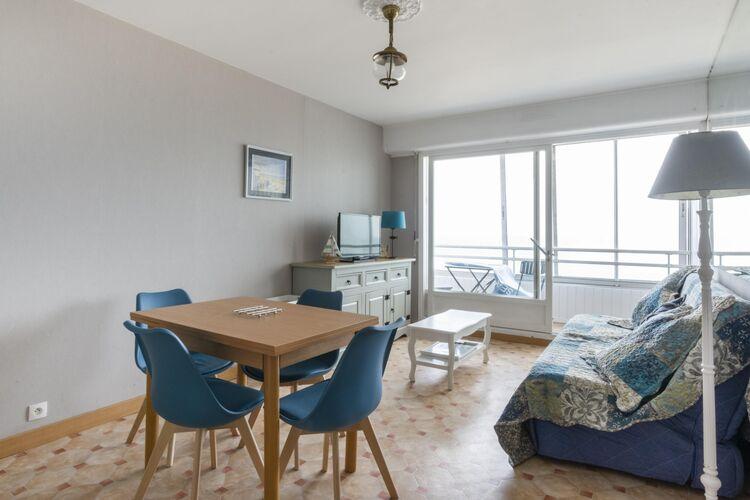 Appartementen Frankrijk | Normandie | Appartement te huur in Courseulles-sur-Mer   met wifi 4 personen