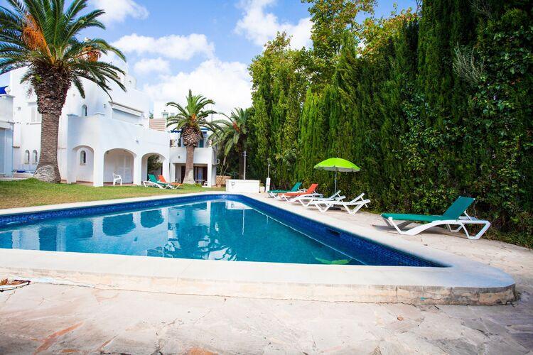Vakantiehuizen Spanje | Mallorca | Vakantiehuis te huur in Cala-dOr met zwembad  met wifi 8 personen