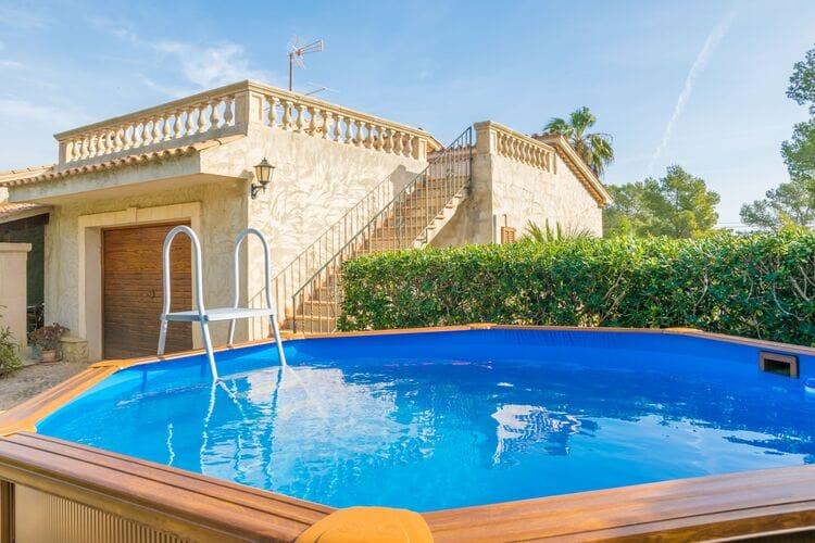 Vakantiehuizen Spanje | Mallorca | Chalet te huur in Port-De-Pollenca-Illes-Balears met zwembad  met wifi 6 personen
