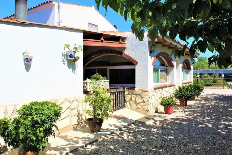 Vakantiehuizen Spanje | Costa-de-Barcelona | Vakantiehuis te huur in Sant-Jaume-dEnveja met zwembad  met wifi 9 personen