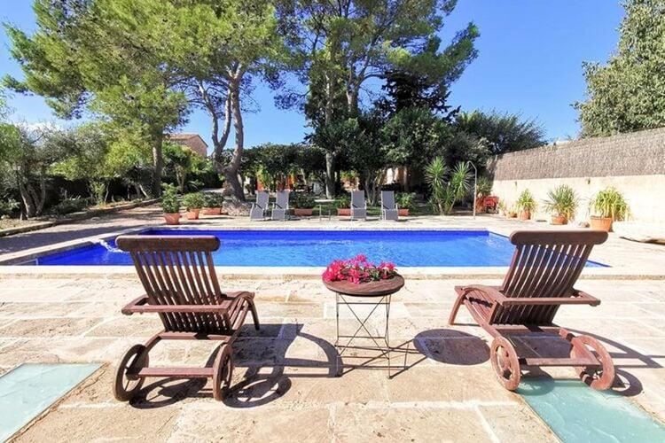 Vakantiehuizen Spanje | Mallorca | Villa te huur in Es-Raiguer-Consell met zwembad  met wifi 12 personen