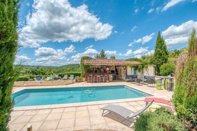 Vakantiehuizen Frankrijk   Midi-Pyrenees   Vakantiehuis te huur in Degagnac met zwembad  met wifi 4 personen