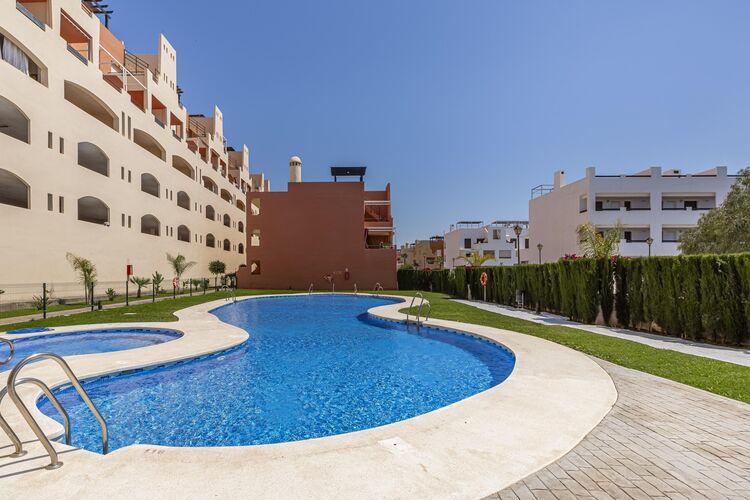 Vakantiehuizen Spanje | Andalucia | Appartement te huur in Vera met zwembad  met wifi 4 personen