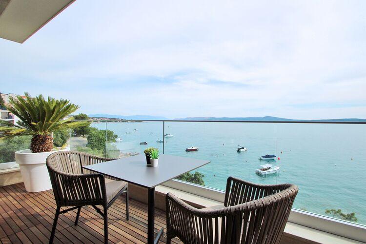 Vakantiehuizen Kroatie | Kvarner | Appartement te huur in Crikvenica met zwembad  met wifi 4 personen