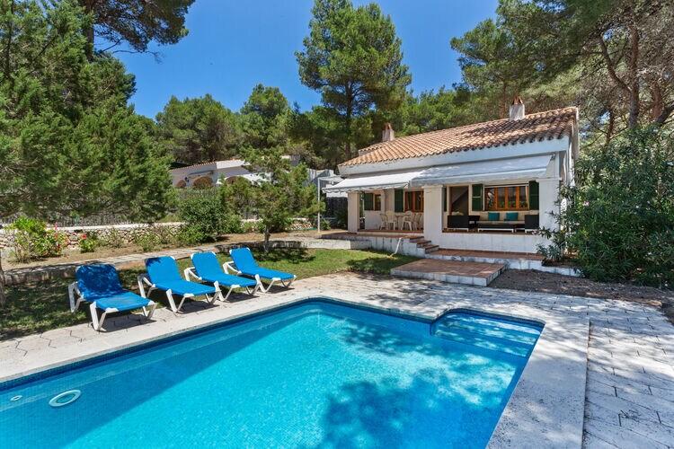 Vakantiehuizen Spanje | Men | Vakantiehuis te huur in Son-Parc met zwembad  met wifi 10 personen