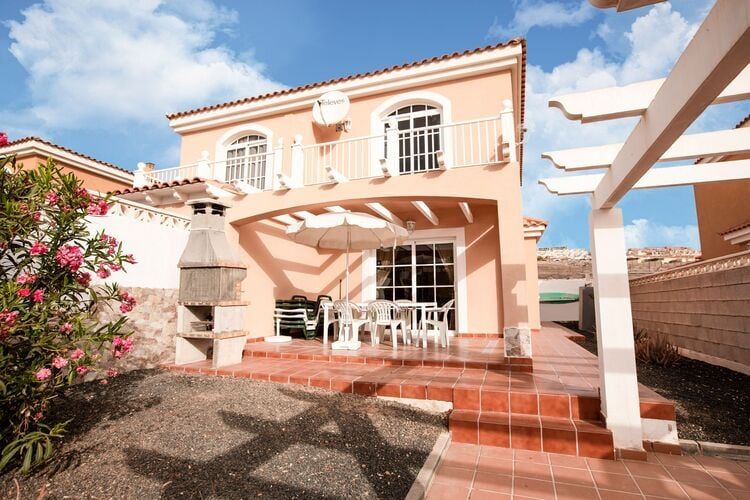 Vakantiehuizen Spanje | Fuert | Vakantiehuis te huur in Caleta-de-Fuste met zwembad  met wifi 6 personen