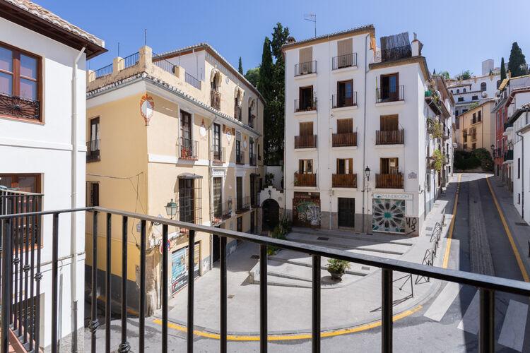 Appartementen Spanje | Andalucia | Appartement te huur in Granada   met wifi 4 personen