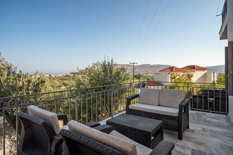 Vakantiehuizen Griekenland | Grles | Appartement te huur in Lesbos-Island met zwembad  met wifi 2 personen