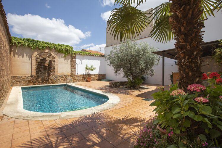 Vakantiehuizen Spanje | Castilla-las-mancha | Vakantiehuis te huur in Ciudad-Real met zwembad  met wifi 13 personen