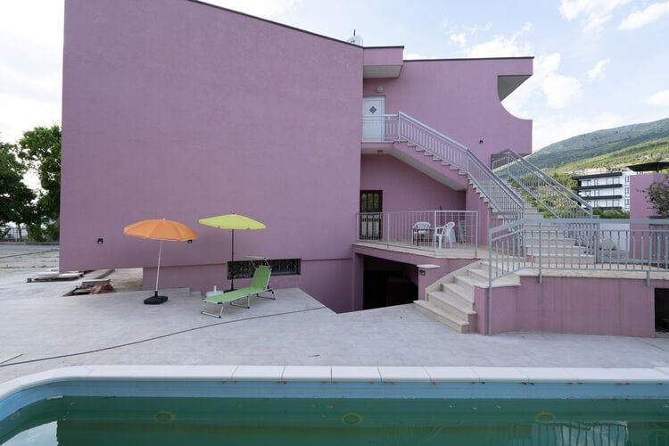 Vakantiehuizen Kroatie | Dalmatie | Villa te huur in Podstrana met zwembad  met wifi 11 personen