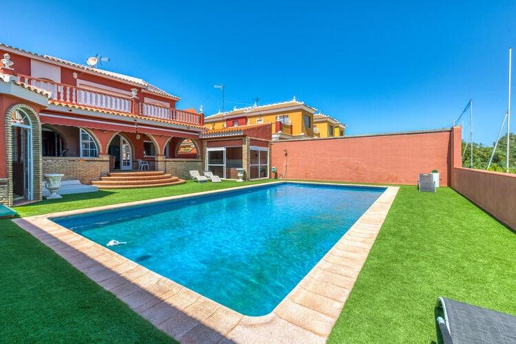 Vakantiehuizen Spanje | Andalucia | Villa te huur in Matalascaas met zwembad  met wifi 10 personen
