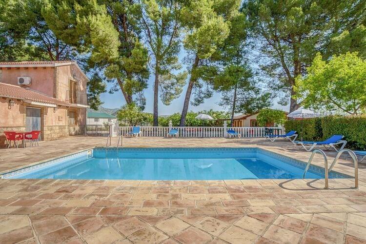 Vakantiehuizen Spanje | Murcia | Vakantiehuis te huur in Moratalla met zwembad  met wifi 4 personen
