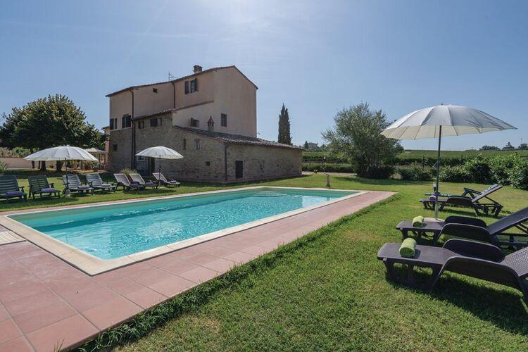 Vakantiehuizen Italie | Toscana | Vakantiehuis te huur in Montecchio-Cortona-AR met zwembad  met wifi 15 personen
