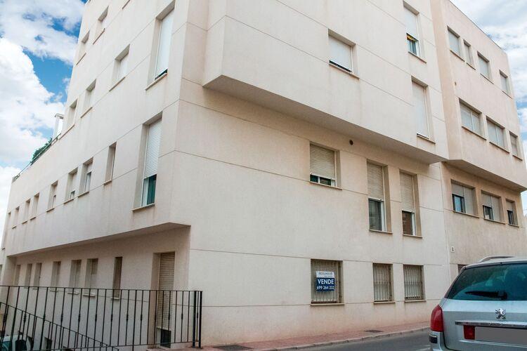 Vakantiehuizen Spanje | Costa-Almeria | Appartement te huur in Garrucha   met wifi 4 personen