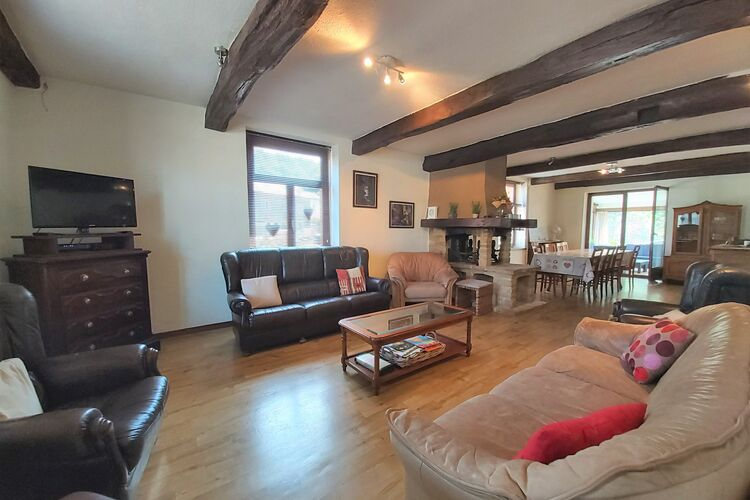 Vakantiehuizen Belgie | Luxemburg | Vakantiehuis te huur in Herbeumont   met wifi 9 personen