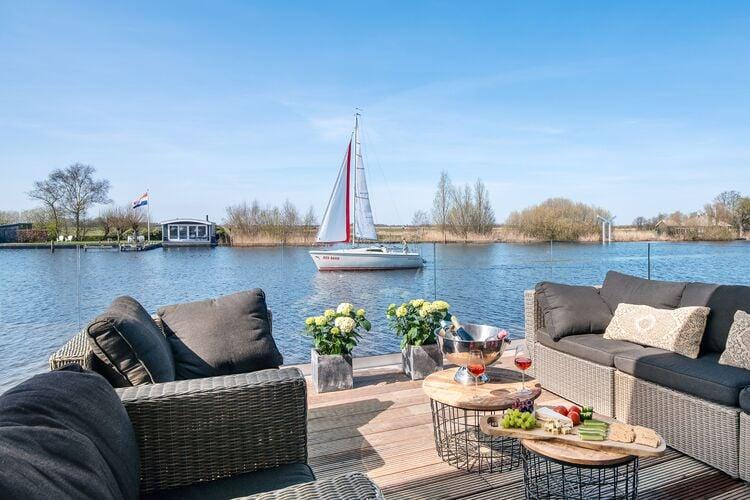 Vakantiehuizen Nederland | Friesland | Vakantiehuis te huur in De-Veenhoop   met wifi 8 personen