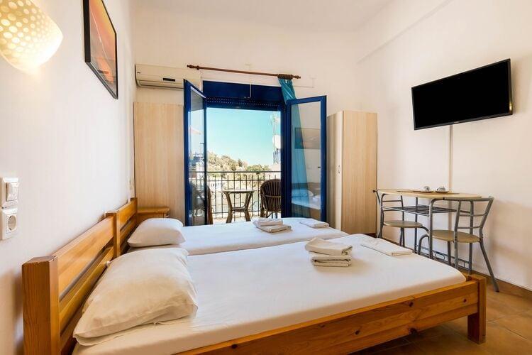 Vakantiehuizen Griekenland | Grkos | Appartement te huur in Therma   met wifi 3 personen