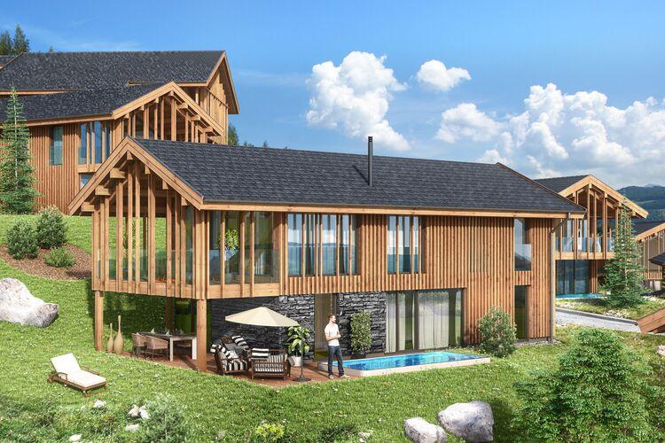 Vakantiehuizen Oostenrijk   Steiermark   Chalet te huur in Ennsling met zwembad  met wifi 10 personen