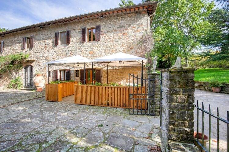 Vakantiehuizen Italie | Toscana | Vakantiehuis te huur in Greve-in-Chianti met zwembad  met wifi 6 personen