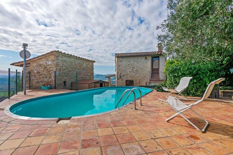 Vakantiehuizen Italie | Umbrie | Vakantiehuis te huur in Corciano-PG met zwembad  met wifi 5 personen