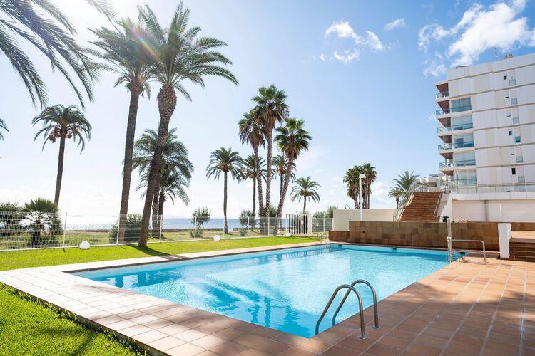 Appartementen Spanje   Ibiza   Appartement te huur in Ibiza-stad met zwembad  met wifi 4 personen