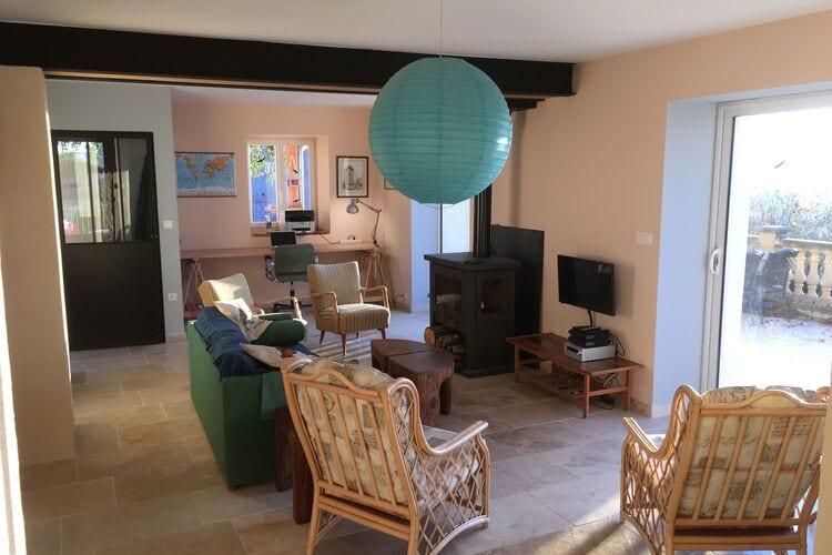 Villas Frankrijk | Bourgogne | Villa te huur in Saizy met zwembad  met wifi 7 personen