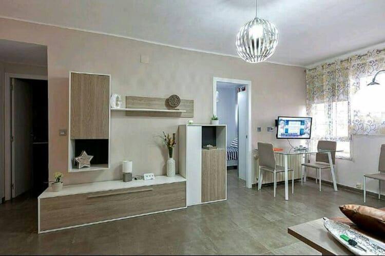 Appartementen Spanje | Navarra | Appartement te huur in Zaragoza   met wifi 6 personen