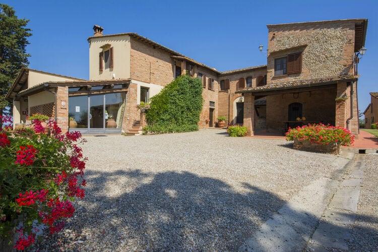 Vakantiehuizen Italie | Toscana | Boerderij te huur in Castelfiorentino-FI met zwembad  met wifi 6 personen