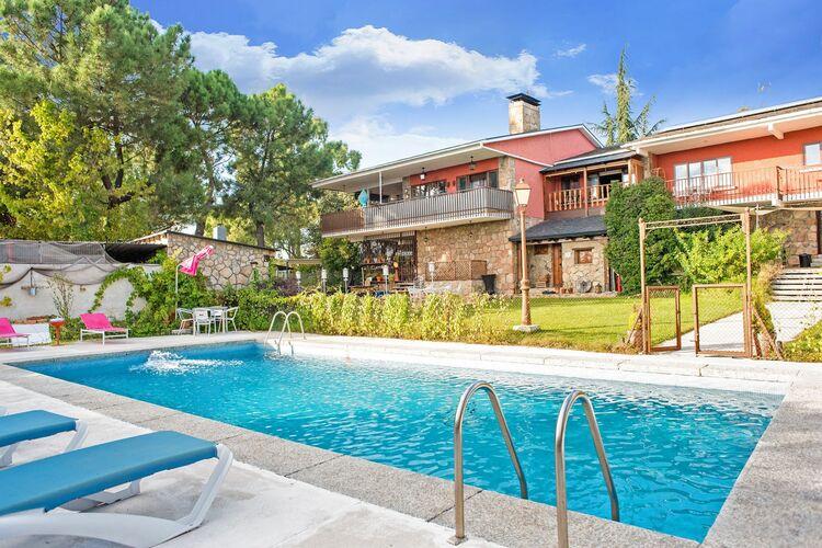 Vakantiehuizen Spanje | Madrid | Vakantiehuis te huur in Galapagar met zwembad  met wifi 3 personen