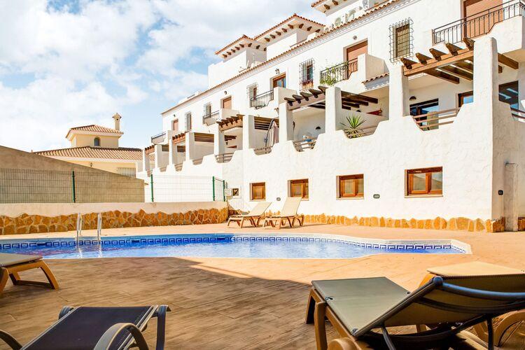 Vakantiehuizen Spanje | Costa-Almeria | Vakantiehuis te huur in Palomares met zwembad  met wifi 6 personen