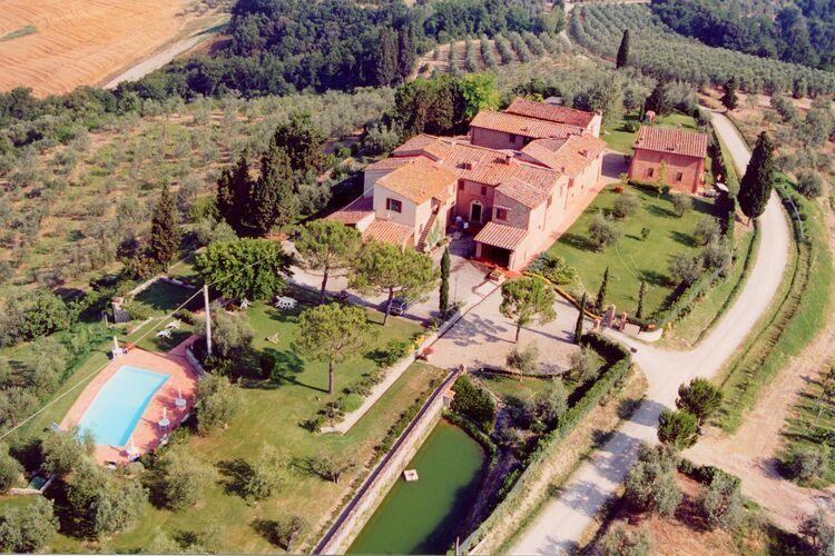 Vakantiehuizen Italie | Toscana | Boerderij te huur in Castelfiorentino-FI met zwembad  met wifi 4 personen