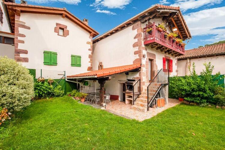 Vakantiehuizen Spanje | Navarra | Vakantiehuis te huur in Sunbilla   met wifi 10 personen