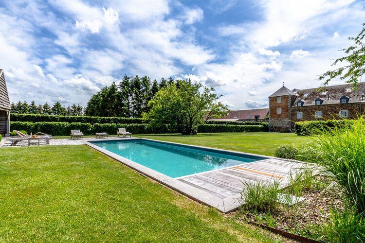 Vakantiehuizen Belgie | Namen | Kasteel te huur in Perwez-Haillot met zwembad  met wifi 4 personen