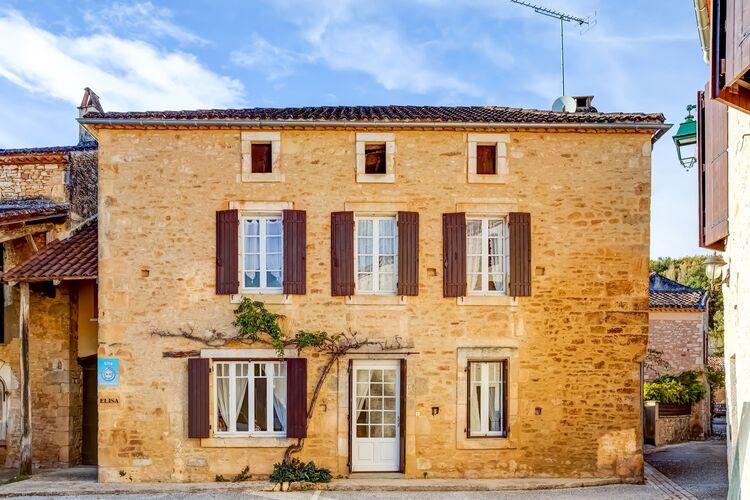 Vakantiehuizen Frankrijk | Midi-Pyrenees | Vakantiehuis te huur in Saint-Martin-le-Redon   met wifi 10 personen