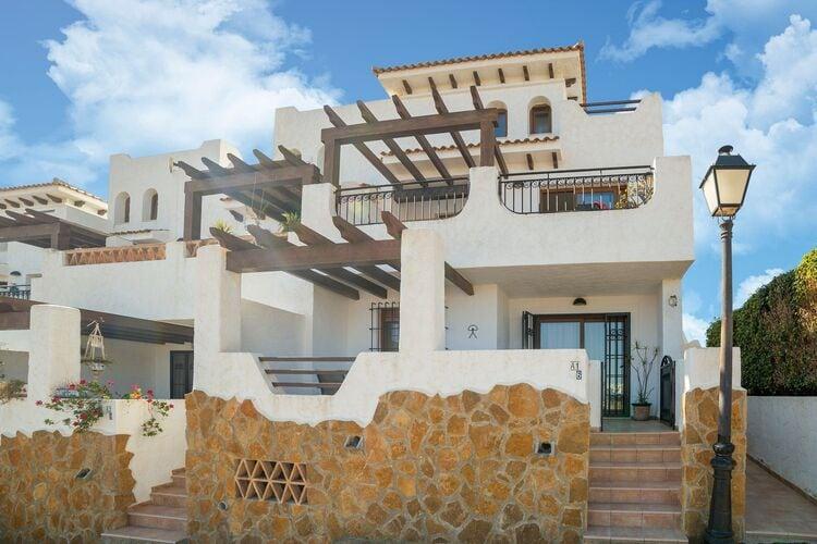 Vakantiehuizen Spanje | Costa-Almeria | Appartement te huur in Palomares met zwembad  met wifi 6 personen